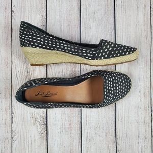 Lucky brand dotted espadrilles EUC